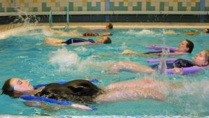 Zwemlessen tijdens zwangerschap