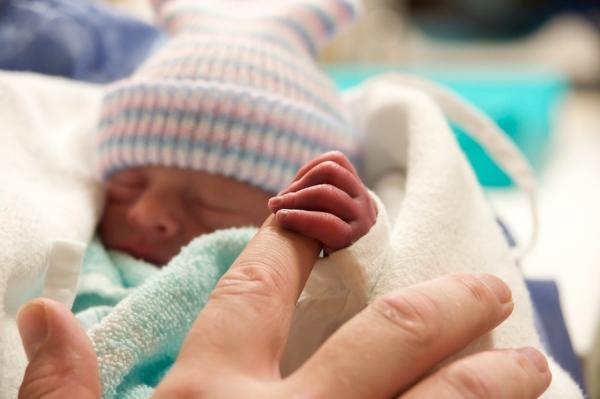 Vroeggeboorte baby