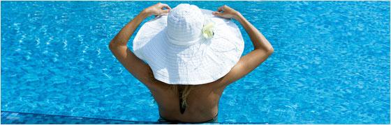 hoed op tijdens zonnen tijdens zwangerschap