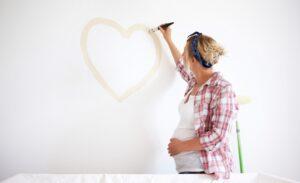 verven tijdens de zwangerschap