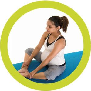 yoga oefening tijdens zwangerschap