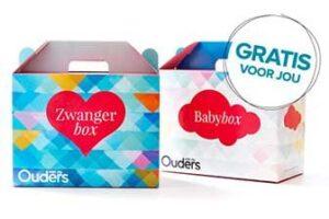 baby en zwangerbox