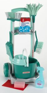 speelgoed schoonmaaktrolley